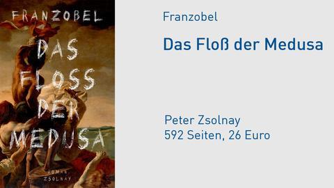 Cover Franzobel Das Floß der Medusa