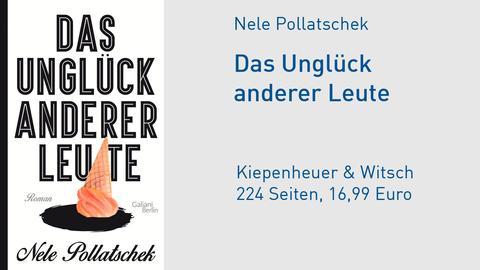 """Cover Nele Pollatschek """"Das Unglück anderer Leute"""""""