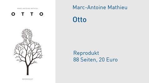 "Cover Marc-Antoine Mathieu ""Otto"""