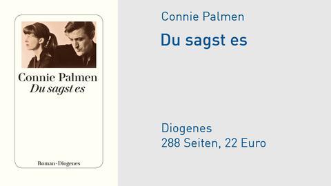 """Cover Connie Palmen """"Du sagst es"""""""
