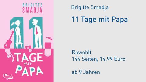 Cover 11 Tage mit Papa Brigitte Smadja