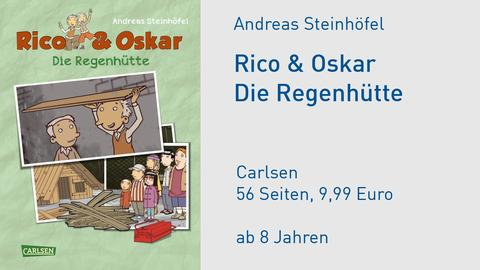 Cover Andreas Steinhöfel Rico & Oskar