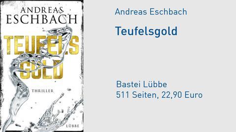 Cover Andreas Eschbach Teufelsgold