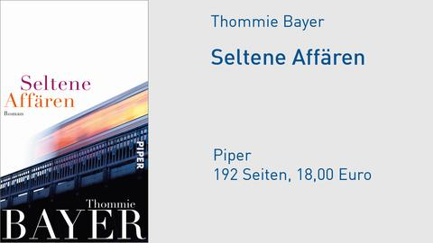 "Cover Thommie Bayer ""Seltene Affären"""