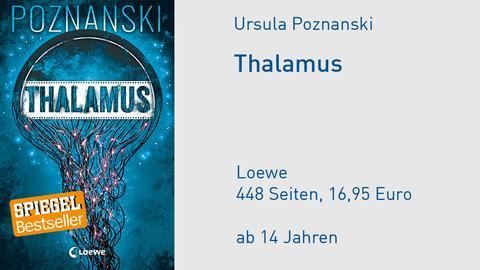 "Buchcover Ursula Poznanski ""Thalamus"""