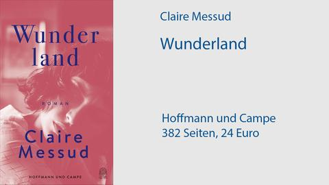 """Cover Claire Messud """"Wunderland"""""""