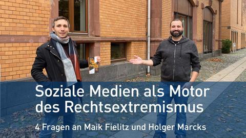 Maik Fielitz (links) und Holger Marcks