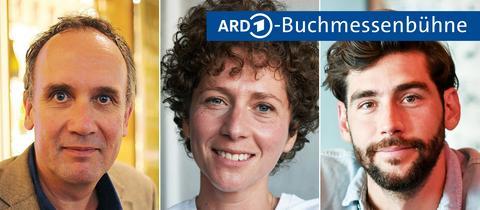 Volker Kutscher, Sasha Marianna Salzmann und Alvaro Soler