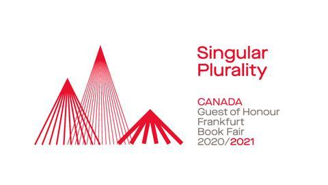 Logo des Ehrengastes 2020/2021 Kanada Singular Plurality Canada Guest of Honour Frankfurt Book Fair 2020/2021