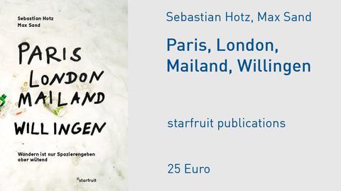 "Cover von ""London, Paris, Mailand, Willingen"""