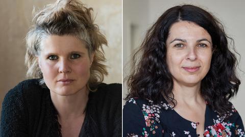 Svenja Flasspöhler und Dilek Güngör