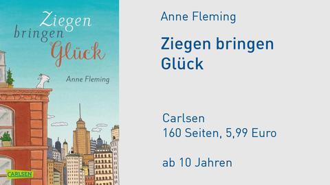 """Anne Fleming """"Ziegen bringen Glück"""" Cover"""