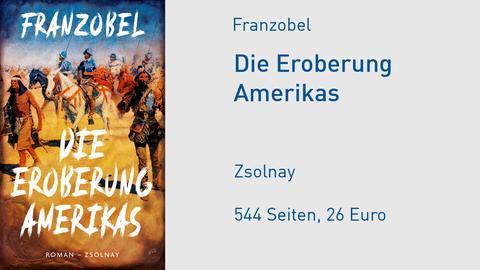 "Franzobel ""Die Eroberung Amerikas"" Cover"
