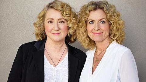 Constanze Kleis und Susanne Fröhlich