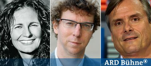 Michaela Karl, Arnon Grünberg und Axel Hacke