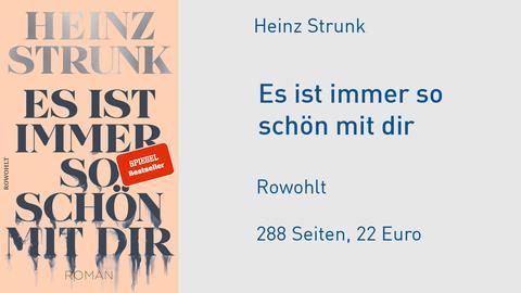 """Heinz Strunk """"Es ist immer so schön mit dir"""""""