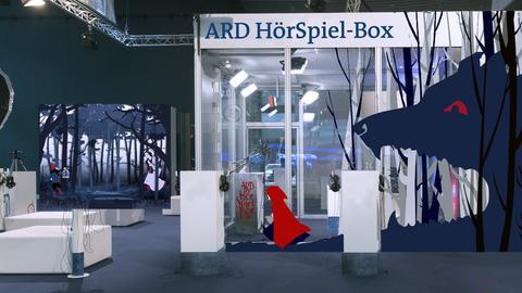 ARD Fotobox und ARD HörSpiel-Box auf der Frankfurter Buchmesse