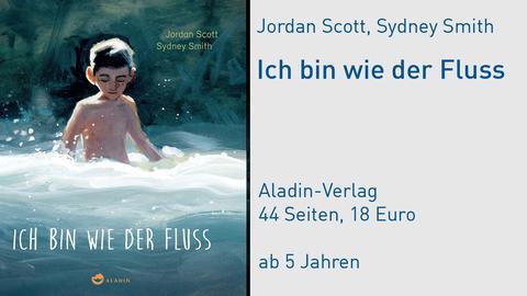 """Jordan Scott """"Ich bin wie der Fluss"""" Cover"""