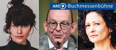 Jasmin Schreiber, Denis Scheck und Pilar Quintana