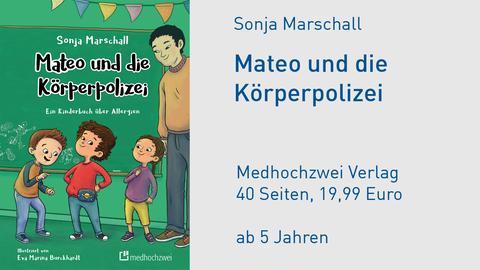 """Sonja Marschall """"Mateo und die Körperpolizei"""" Cover"""