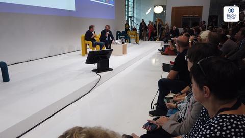 Jo Nesbø auf der Frankfurter Buchmesse