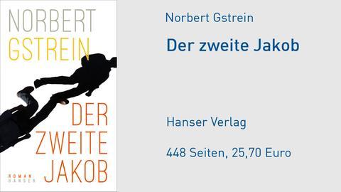"""Norbert Gstrein """"Der zweite Jakob"""" Cover"""