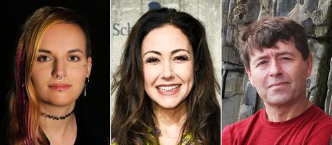 Anastasia Zampounidis, Riccardo Simonetti, Michael Crummey