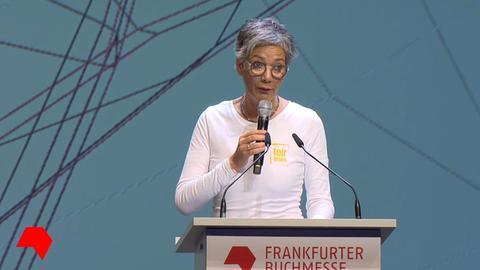 Karin Schmidt-Friderichs, die Vorsteherin des Börsenvereins des Deutschen Buchhandels