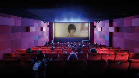 Kinosaal im Deutschen Filminstitut