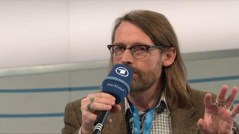 Christoph Peters im Gespräch