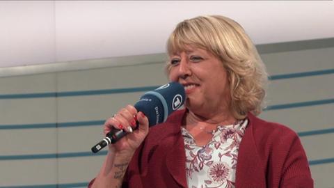 Claudia Klütsch im Gespräch