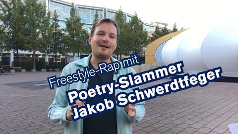 Poetry-Slammer Jakob Schwerdtfeger
