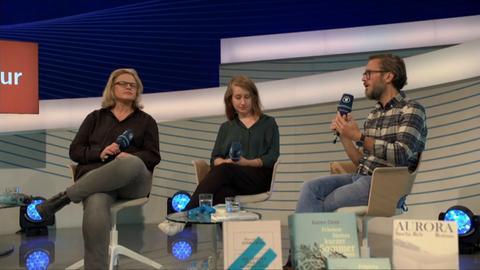 Gruppengespräch mit Autoren