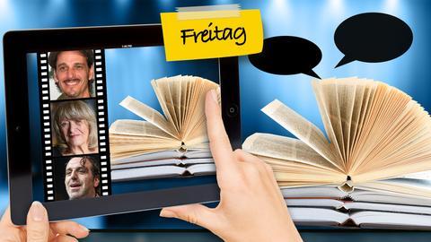Vorschau Buchmesse-Freitag: Digital und analog - Tablet und Buch