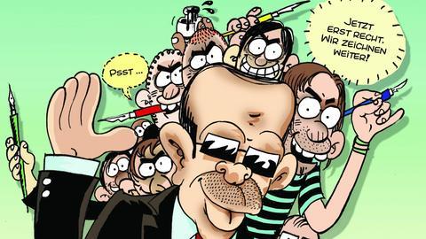 Caricatura: Satire aus der Türkei