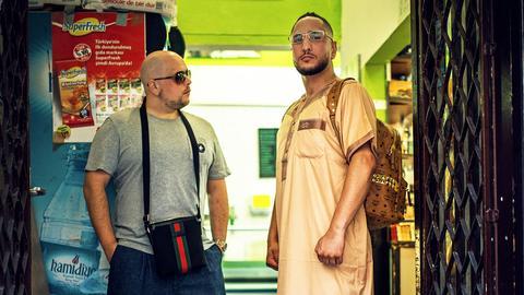Celo & Abdi in einem Kiosk, Promofoto