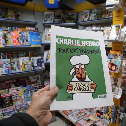 Charlie Hebdo Mohammed Titelbild