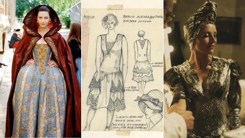 Catherine Zeta-Jones, Entwurf für Berlin Alexanderplatz, Hanna Schygulla in Lili Marleen