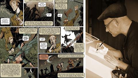 Lichtscheuer Vampirjäger - Illustrator und Illustration