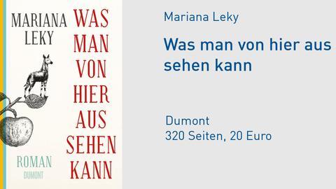 "Cover Mariana Leky ""Was man von hier aus sehen kann"""