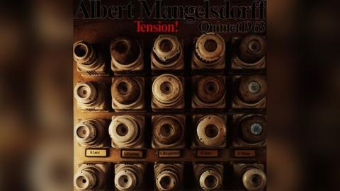 Plattencover Albert Mangelsdorff, Tension 1963
