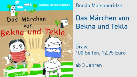 Cover Bondo Matsaberidze Das Märchen von Bekna und Tekla
