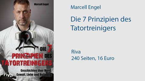 """Buchcover """"Die 7 Prinzipien des Tatort-Reinigers"""""""