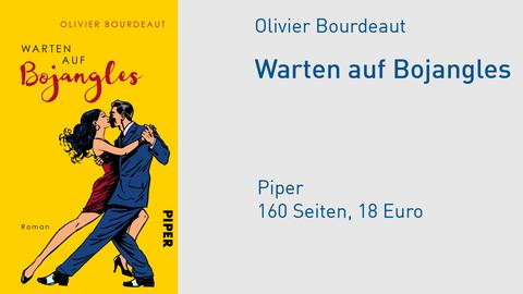 Cover Olivier Bourdeaut Warten auf Bojangles