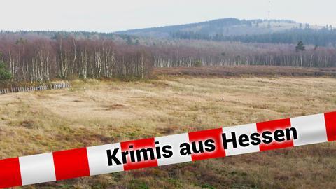 Abgetorfte Hochfläche im Roten Moor in der Hessischen Rhön