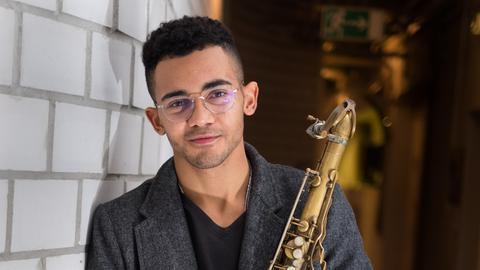 Saxophonist Darius Blair