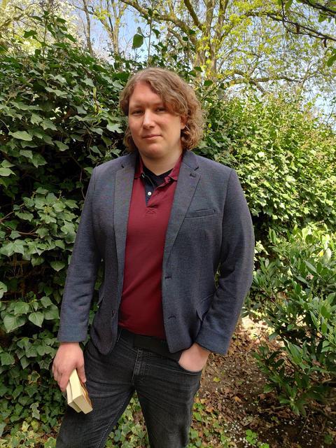 Leonard Fischer hat einen philosophischen Buchclub gegründet