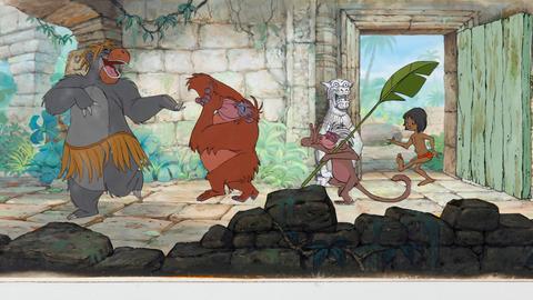 Szene aus dem Dschungelbuch