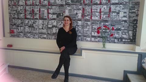documenta Athen:  Künstlerin Mary Zigouri
