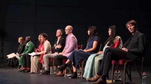 Pressekonferenz zur documenta 14